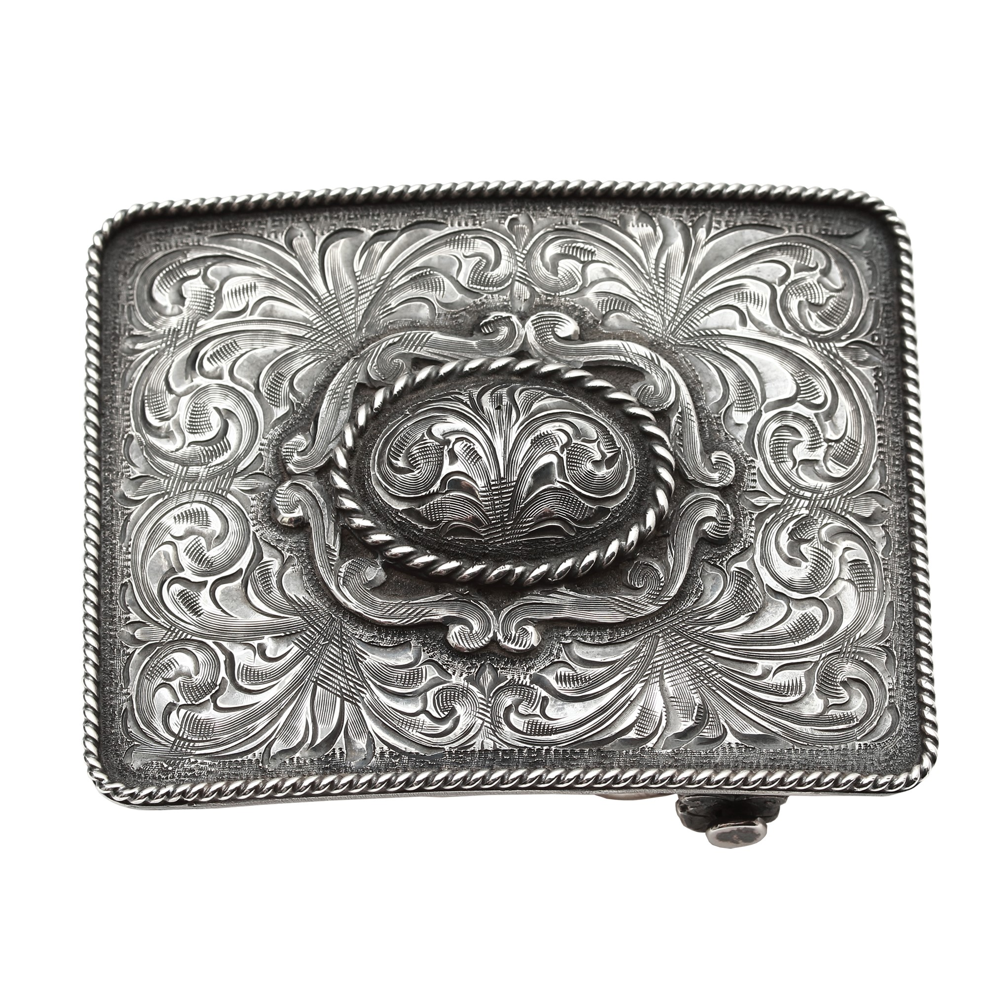 Clint Orms  Sterling Silver    Belt Buckle CRANE-1801