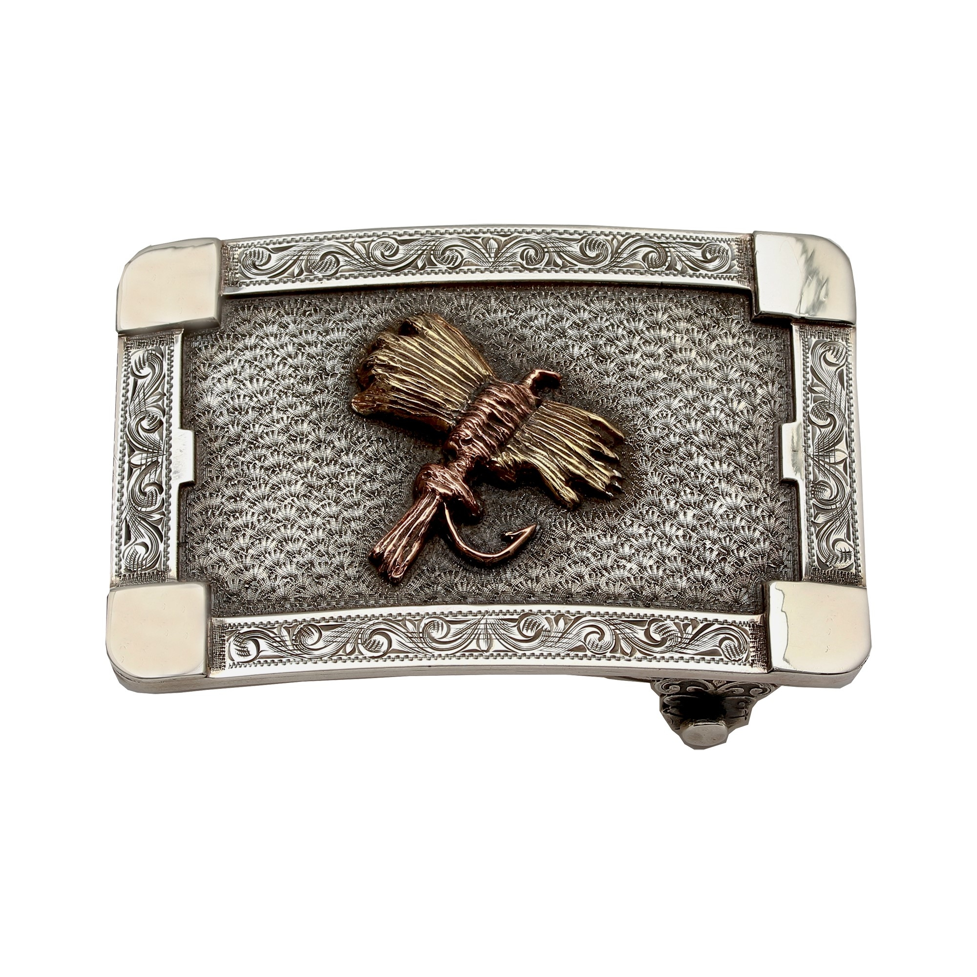 Clint Orms  Sterling Silver    Belt Buckle MARTIN-1823