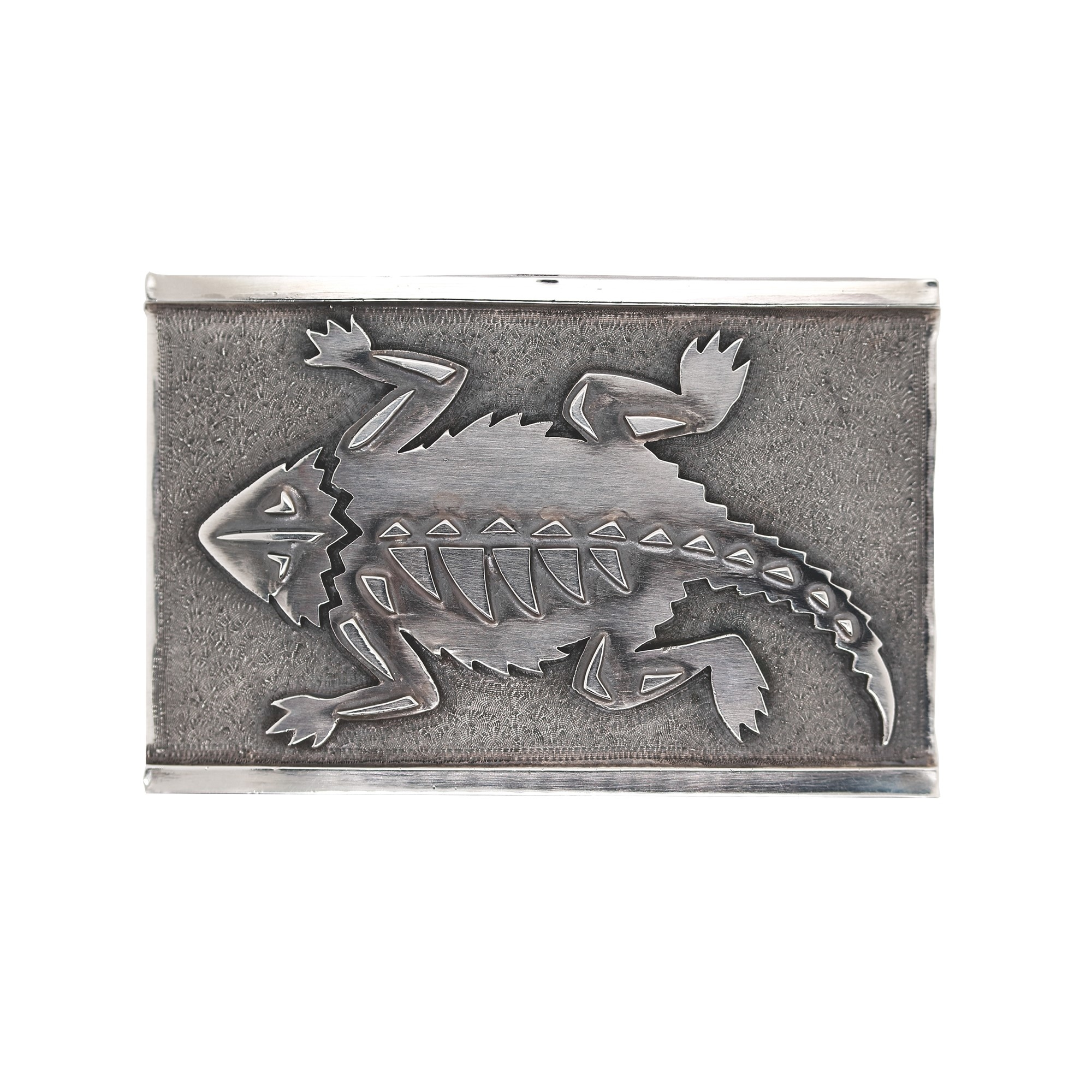 Clint Orms  Sterling Silver    Belt Buckle ZAPATA-1606