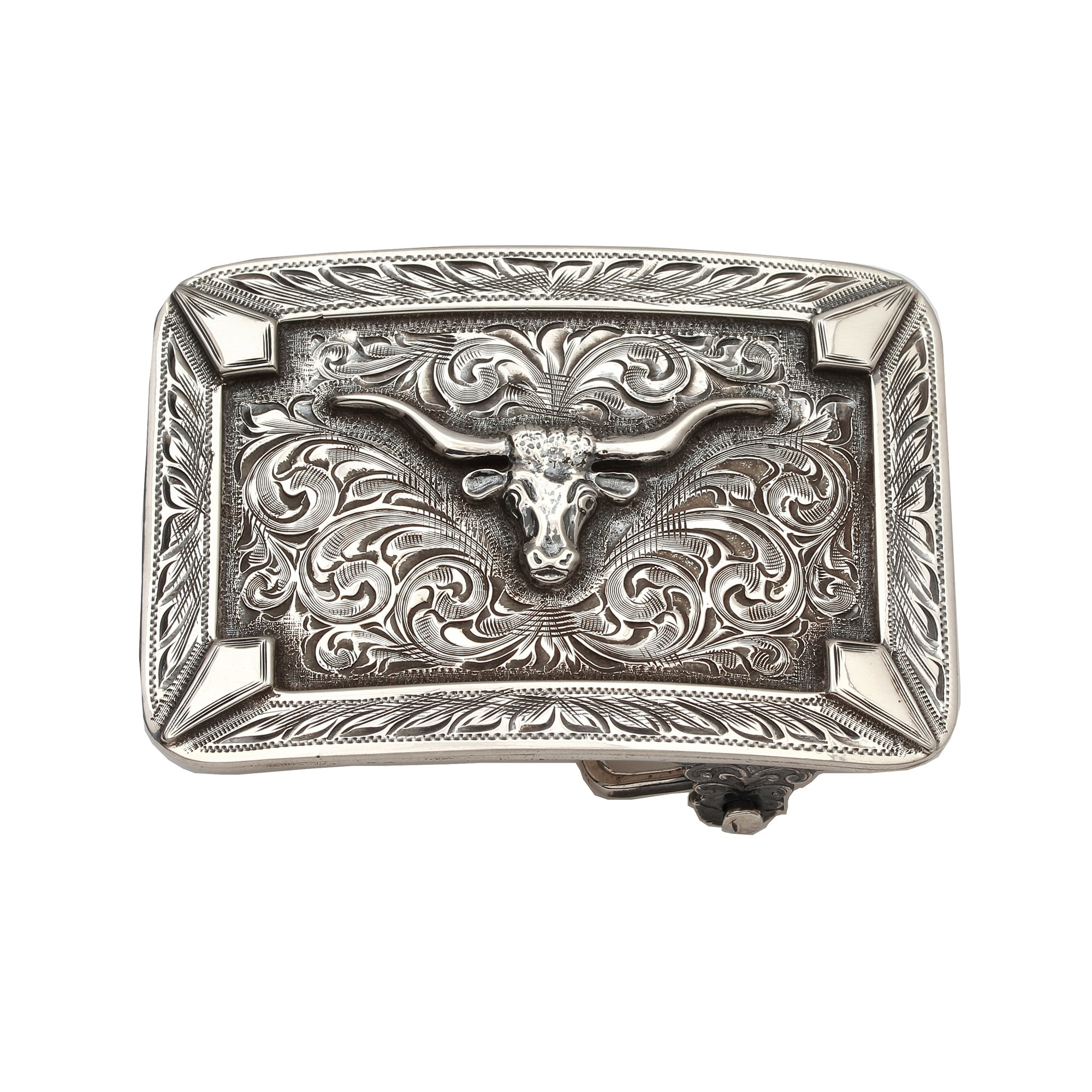 Clint Orms  Sterling Silver    Belt Buckle SABINE-1813