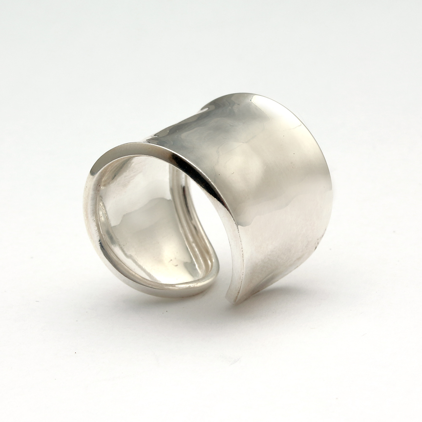 Jewel Lab  Sterling Silver    Silver Rings without Stones PISA BR