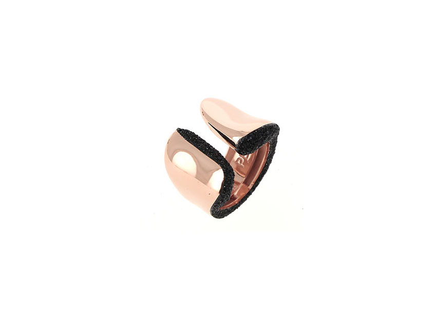 Pesavento  Sterling Silver  Brown Polvere Silver Rings without Stones WPLVA1576M