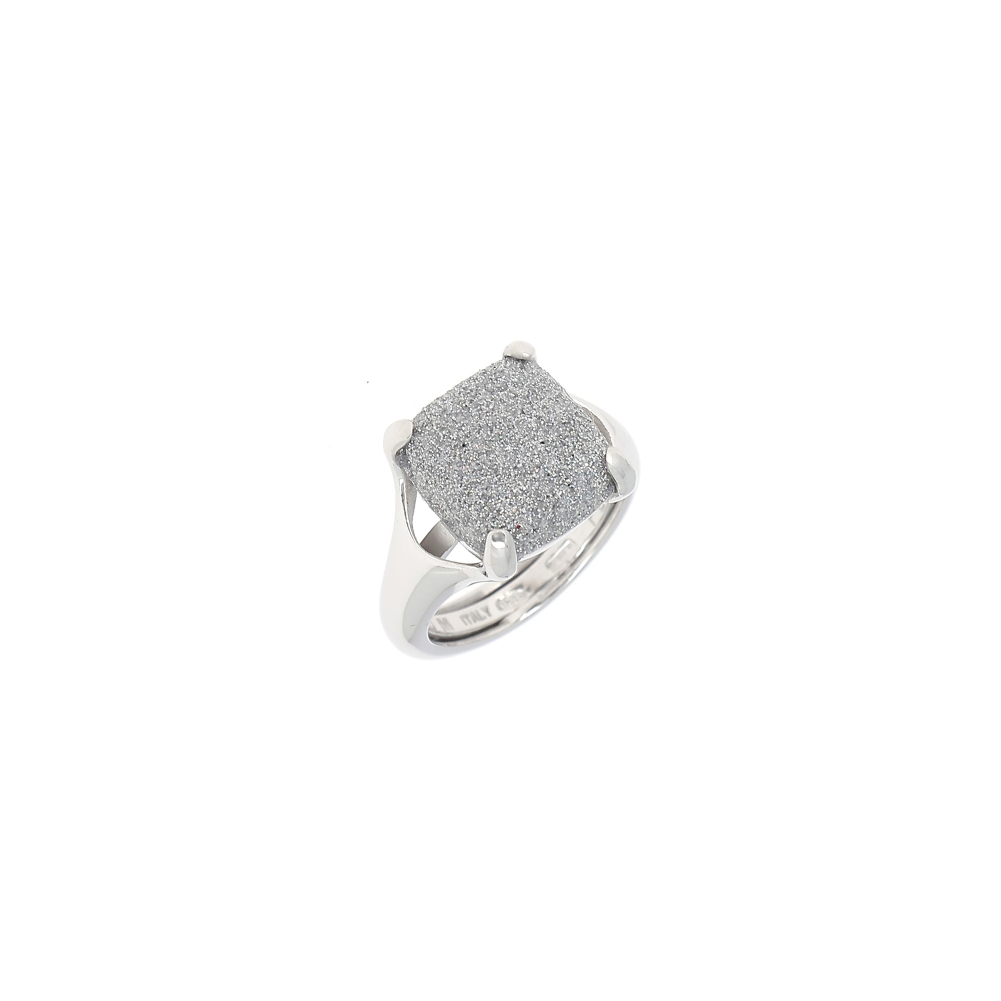 Pesavento  Sterling Silver  Gray Polvere Silver Rings without Stones WPLVA1249M