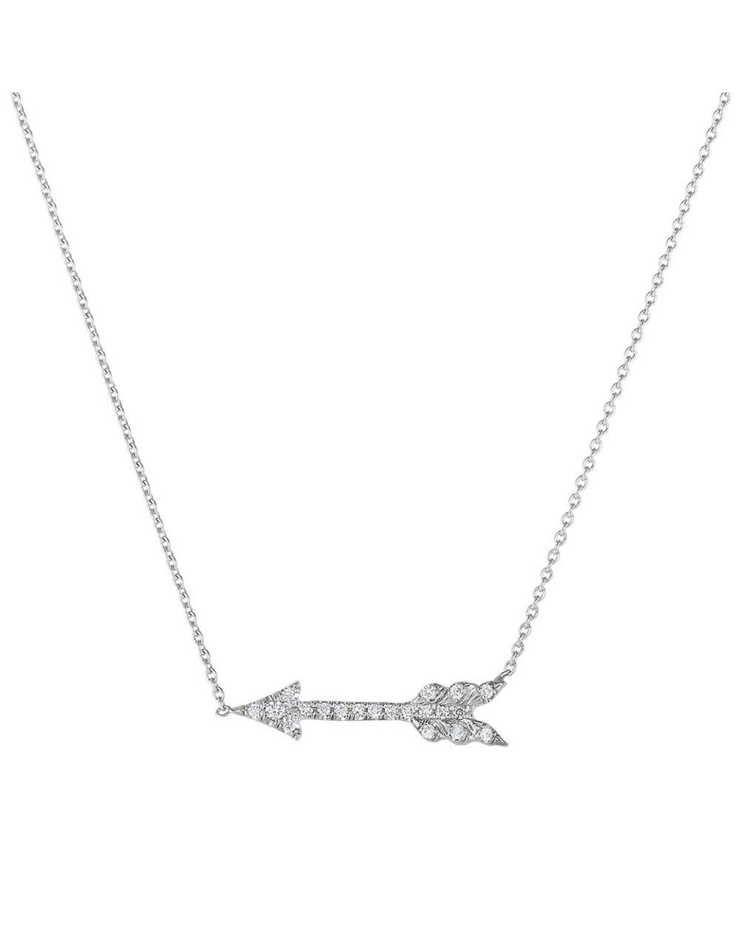 Roberto Coin 18K White Gold .09cts  Diamonds Gold Necklace with Stones 000046AWCHX0