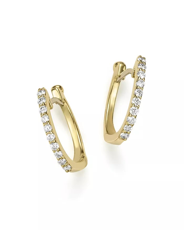 Roberto Coin 18K Yellow Gold .20cts  Diamond Gold Earrings with Stones 000466AYERX0