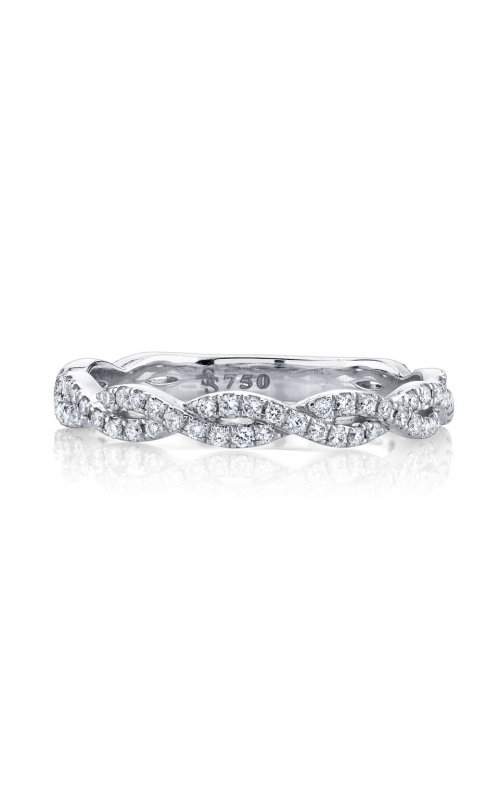 Sloane Street 18K White Gold .38cts  Diamond Gold Ring with Stones R106-WD-W-7