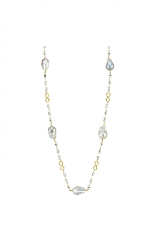 Sloane Street 18K Yellow Gold 34.2cts  Topaz Gold Necklace with Stones CT-CH004-WT-WP-Y
