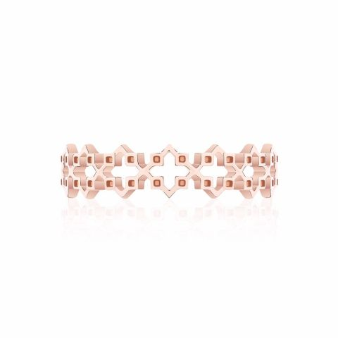 Birks 18K Rose Gold    Gold Ring without stones 450011677409-7
