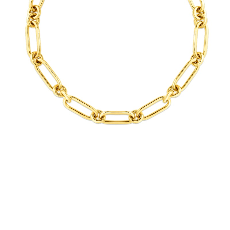 Roberto Coin 18K Yellow Gold    Gold Necklace 9151058AY180