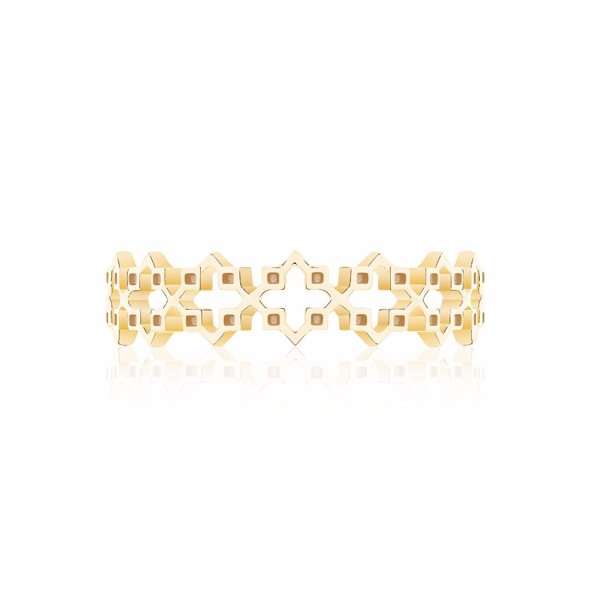 Birks 18K Yellow Gold    Gold Ring without stones 450011677164-7