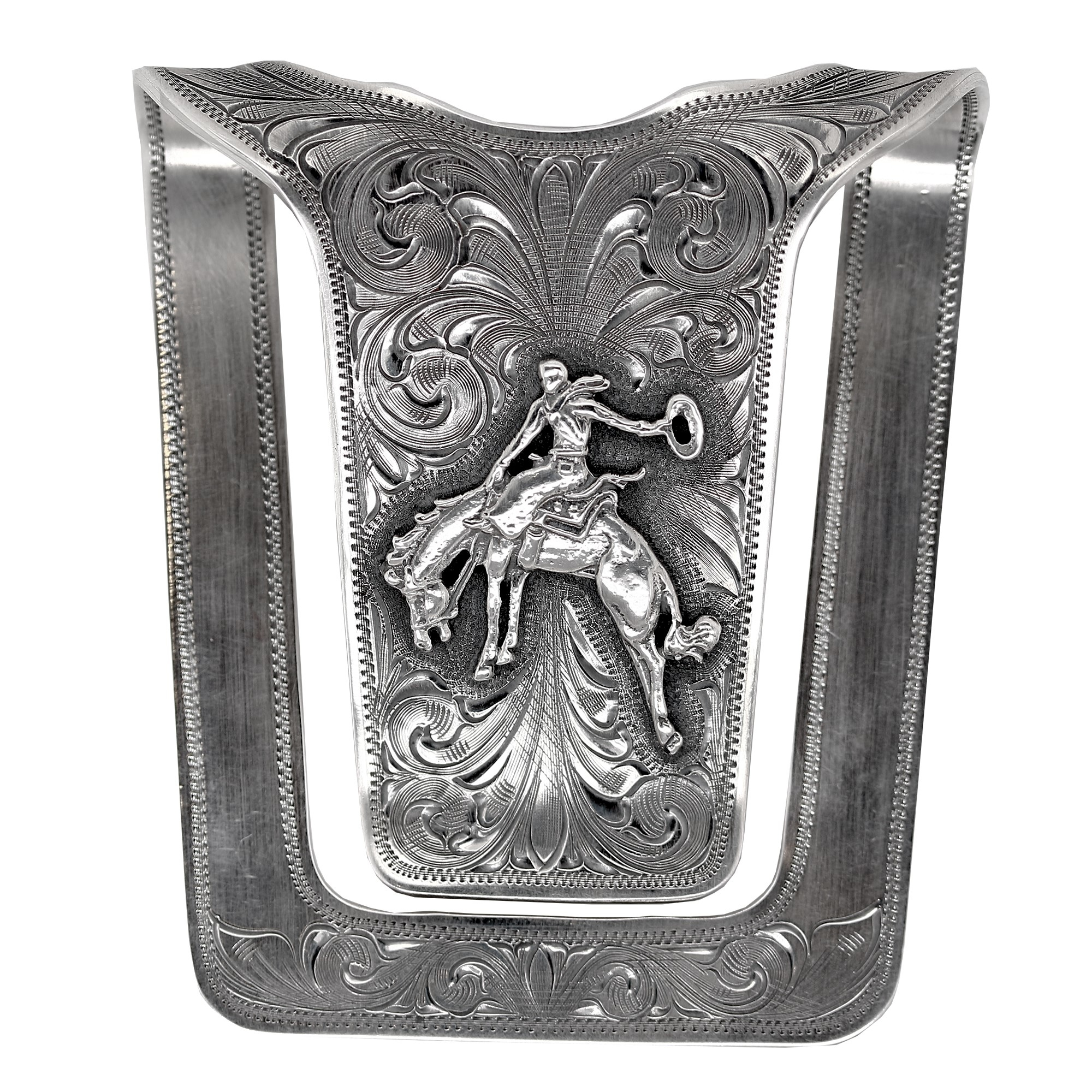 Clint Orms  Sterling Silver    Belt Buckle SAN AUGUSTINE-1801