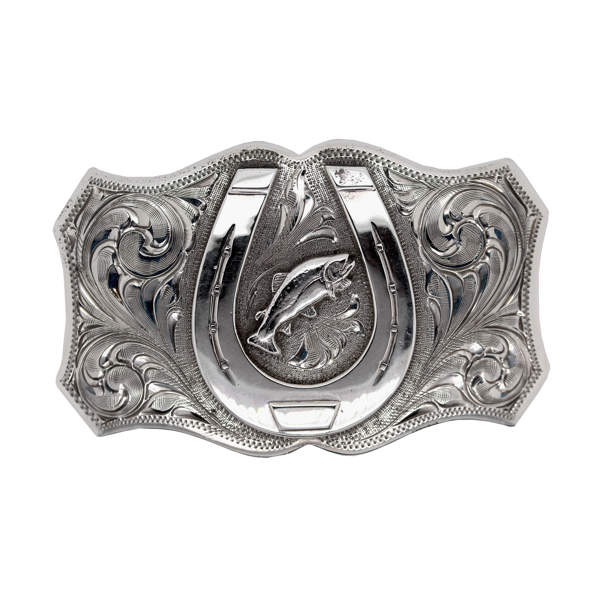 Clint Orms  Sterling Silver    Belt Buckle TRINITY-1829