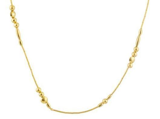 Gurhan 24K Yelow Gold    Gold Necklace with Stones DZN-MXGB-L-PL-18