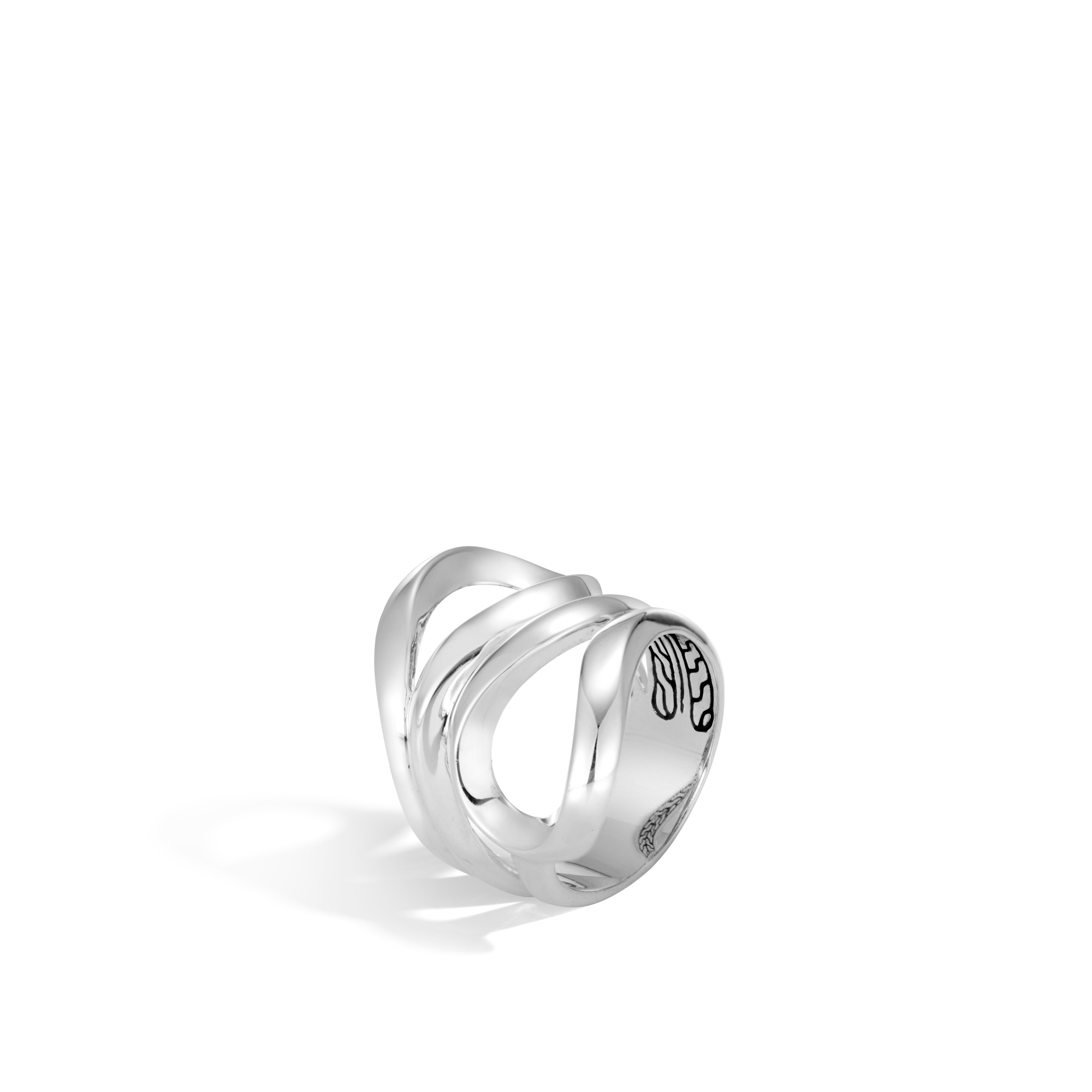 John Hardy  Sterling Silver    Silver Rings without Stones RB90134X7