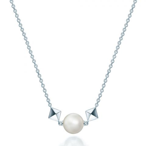 Maison Birks  Sterling Silver   Pearl SILVER NECKLACE/BROOCH 450009223687