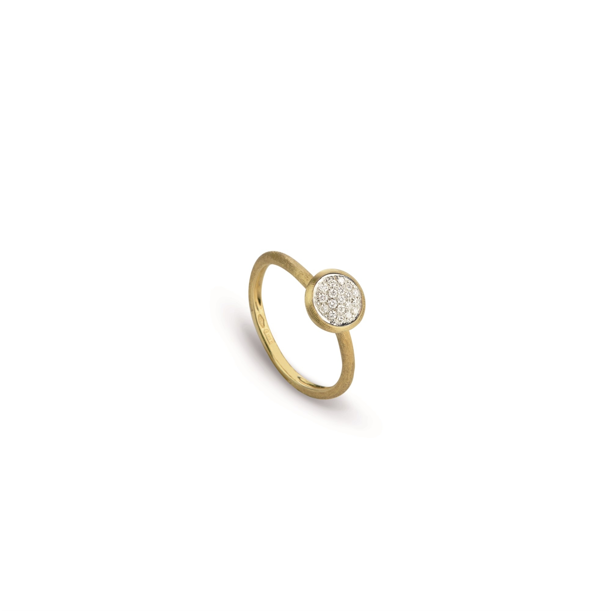 Marco Bicego 18K Yellow Gold .07cts  Diamonds Gold Ring with Stones AB471-B