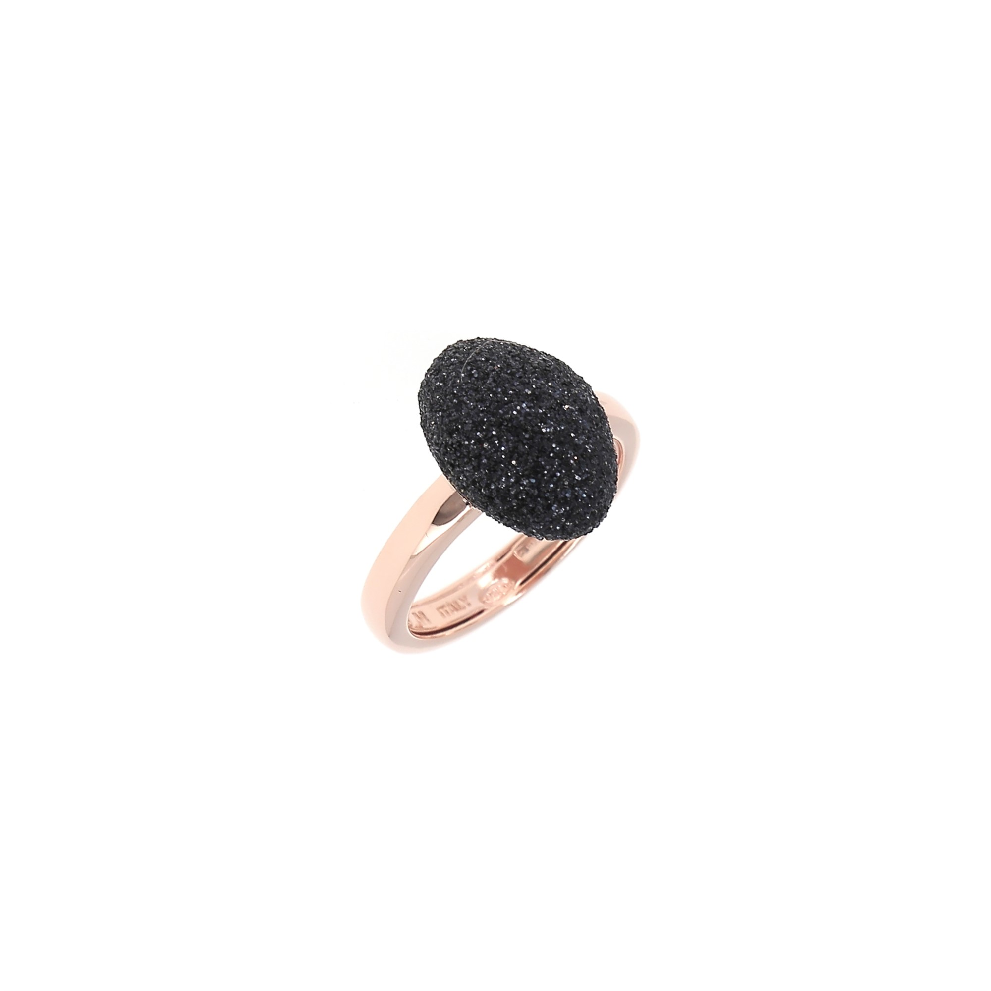 Pesavento  Sterling Silver  Black Polvere Silver Rings without Stones WPLVA1256/M