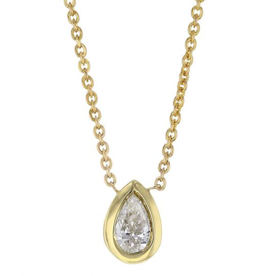 Roberto Coin 18K Yellow Gold .20cts  Diamond Gold Necklace with Stones 111433AYCHX0