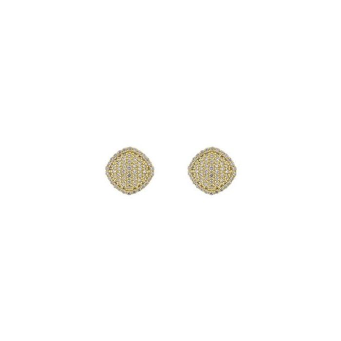Sloane Street 18K Yellow Gold .81cts  Diamond Gold Earrings with Stones E009-WD-Y