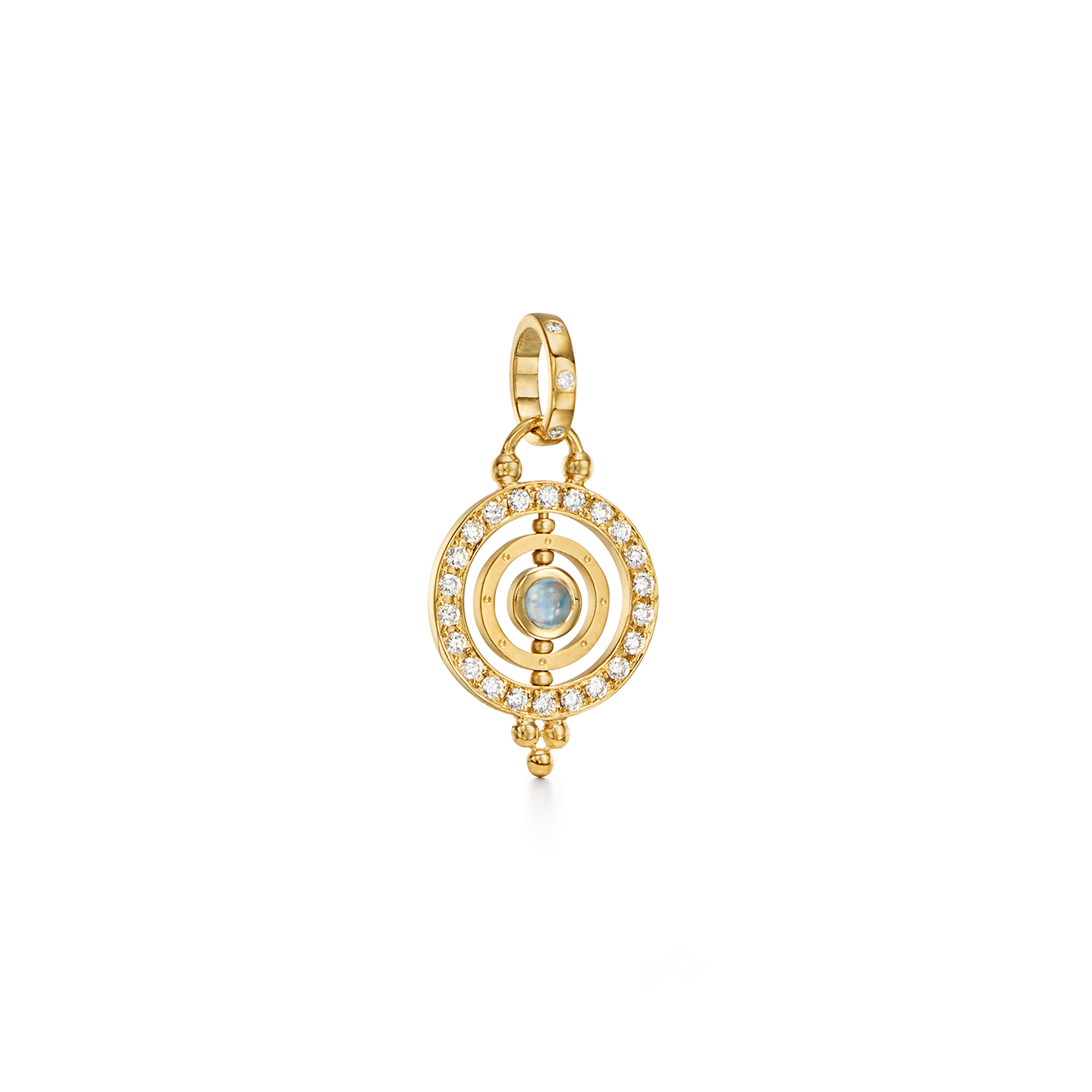 Temple St. Clair 18k Yellow Gold .37cts  Diamonds Gold Pendants / Charms P41474-XSTOLBM