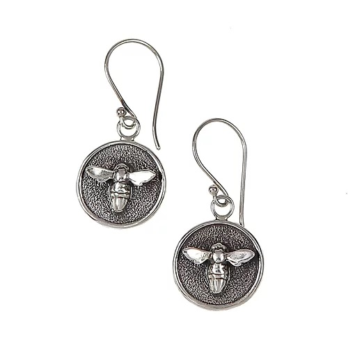 Carol Ferguson Jewelry  Sterling Silver    Silver Earrings E-TBM-S