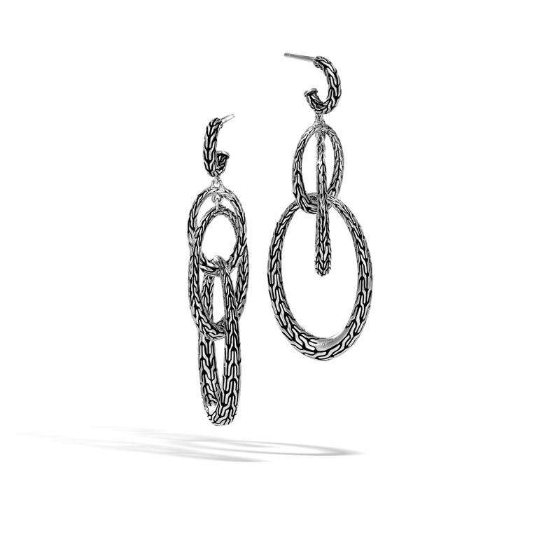 John Hardy       Silver Earrings EB999678