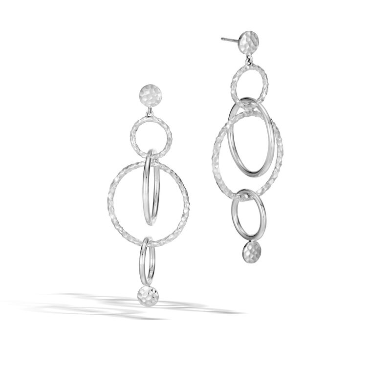 John Hardy       Silver Earrings EB34002
