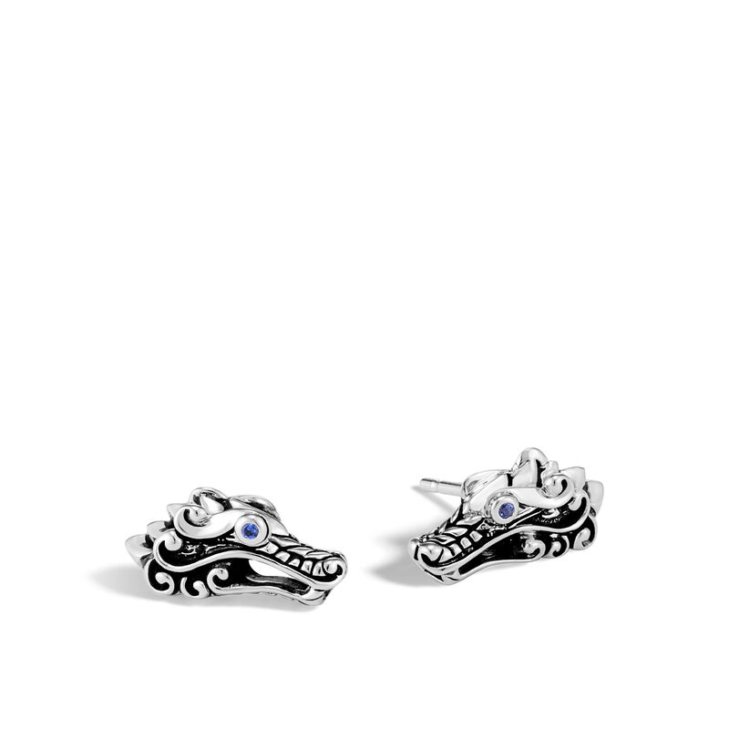 John Hardy       Silver Earrings EBS60134BSP