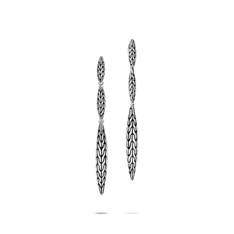 John Hardy       Silver Earrings EB90539