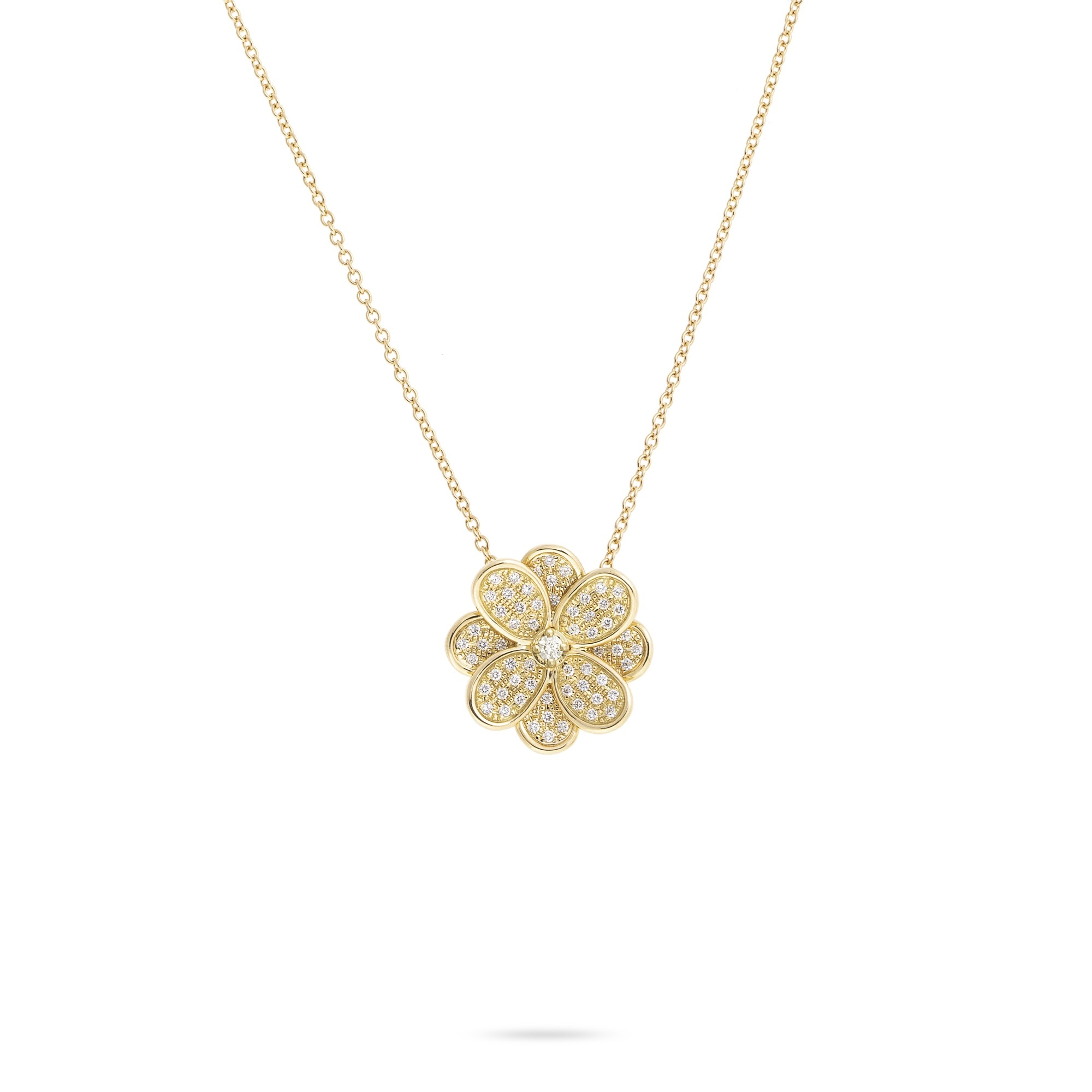 Marco Bicego 18K Yellow Gold .62cts  Diamonds Gold Necklace with Stones CB2434 B6 Y