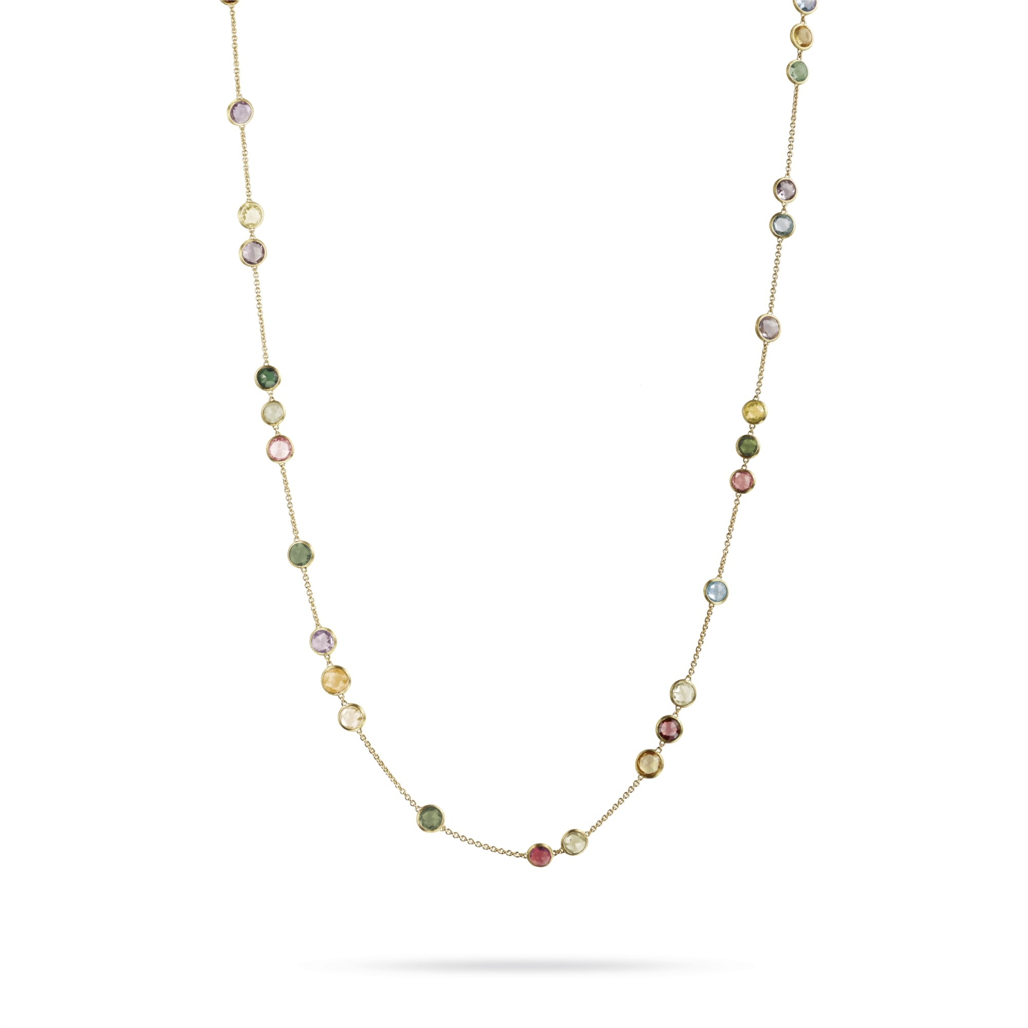 Marco Bicego 18K Yellow Gold    Gold Necklace with Stones CB1309 MIX01 Y