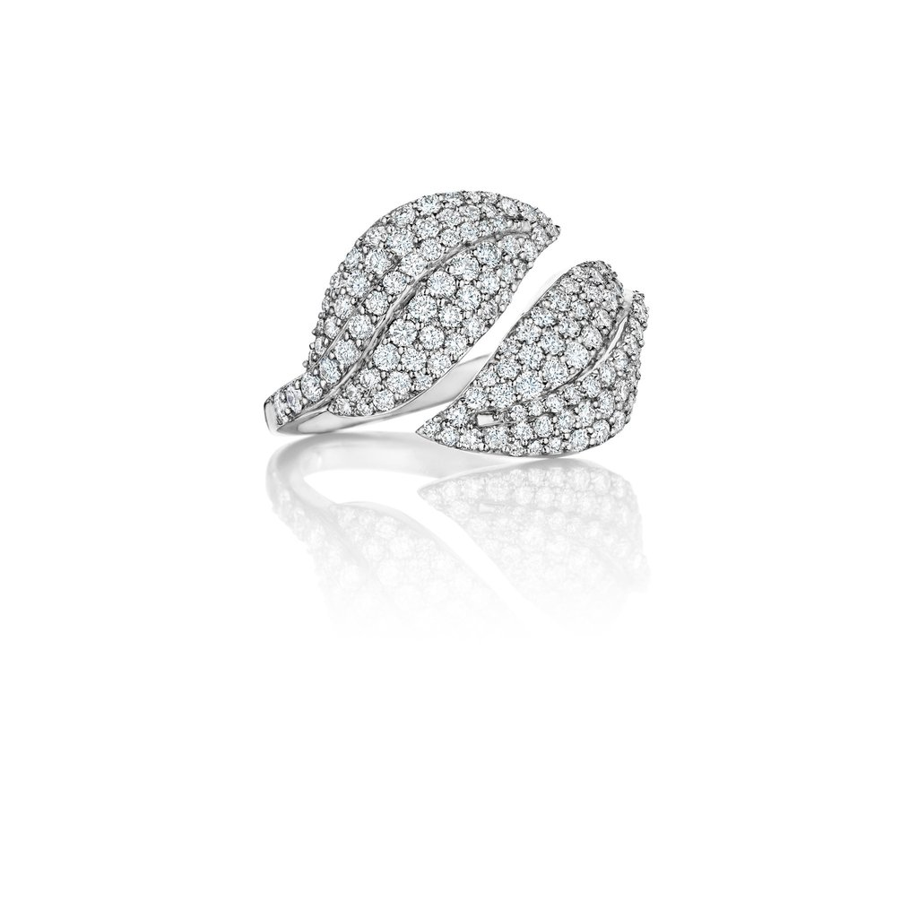 Penny Preville 18K White Gold 1.37cts  Diamonds Gold Ring with Stones R6346W