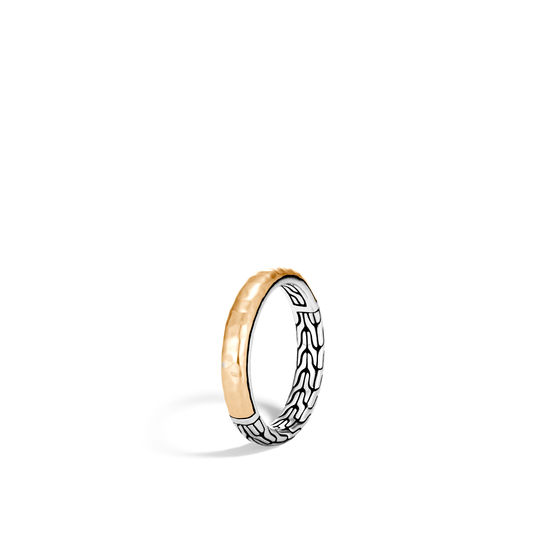 John Hardy 18K Yellow Gold    Silver Rings without Stones RZ90472X6