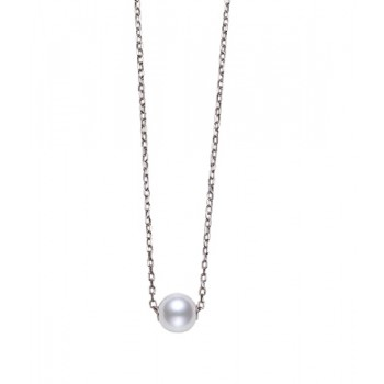 Mikimoto 18K White Gold   Pearl Pearl Necklace MPQ10042AXXW