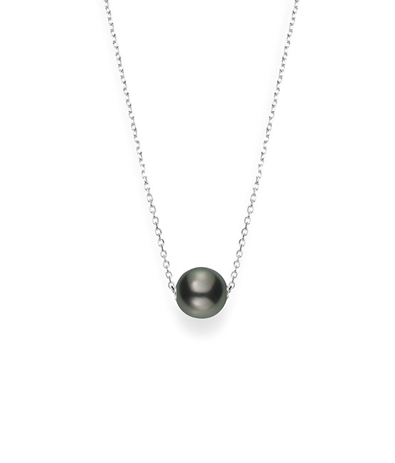 Mikimoto 18K White Gold   Pearl Pearl Necklace MPQ10059BXXW
