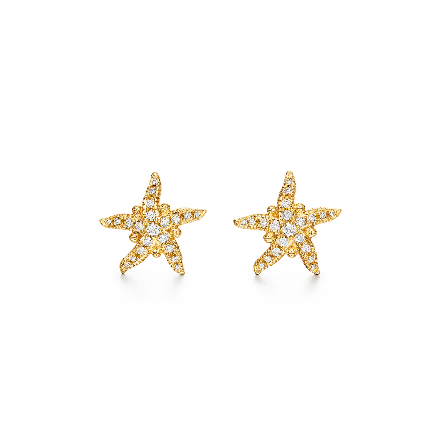 Temple St. Clair 18K Yellow Gold .42cts  Diamonds Gold Earrings with Stones E31805-PVSTRP