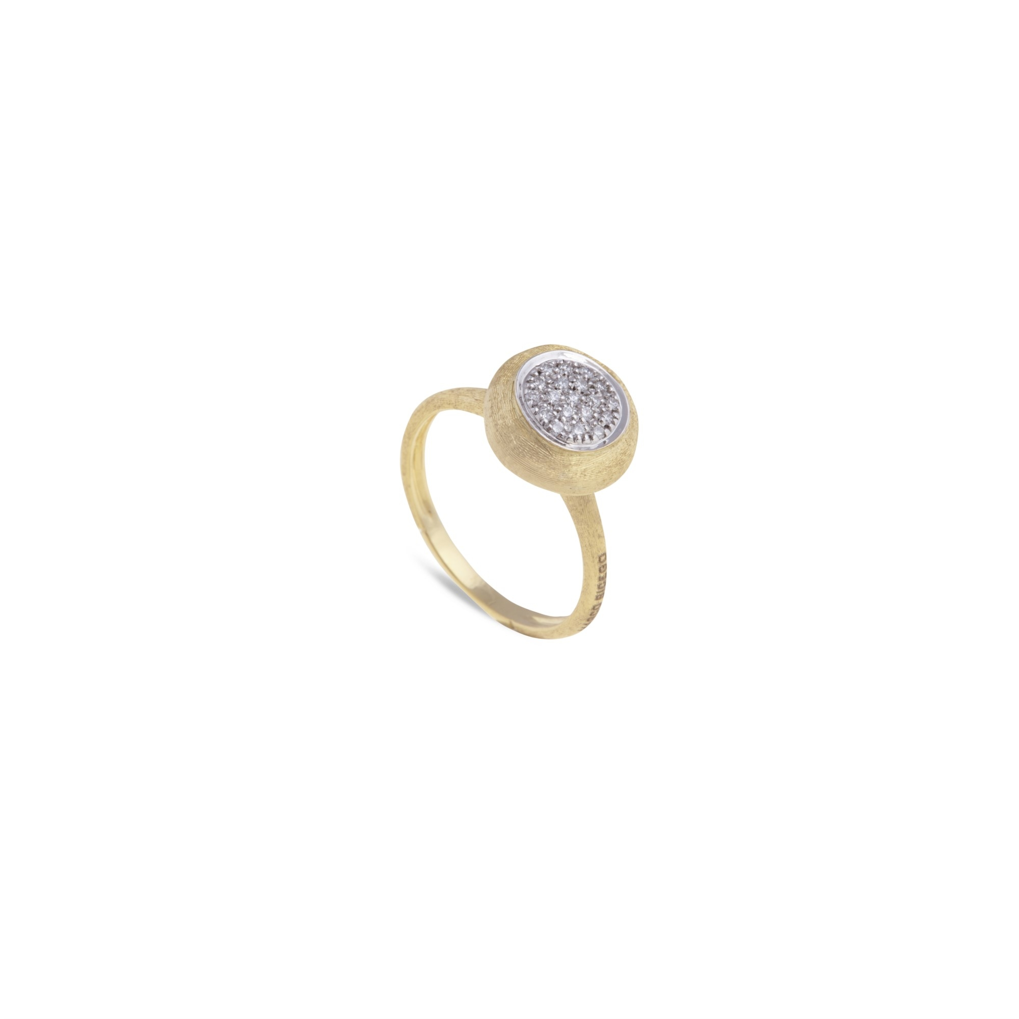 Marco Bicego 18K Yellow Gold .14cts  Diamonds Gold Ring with Stones AB586-B YW