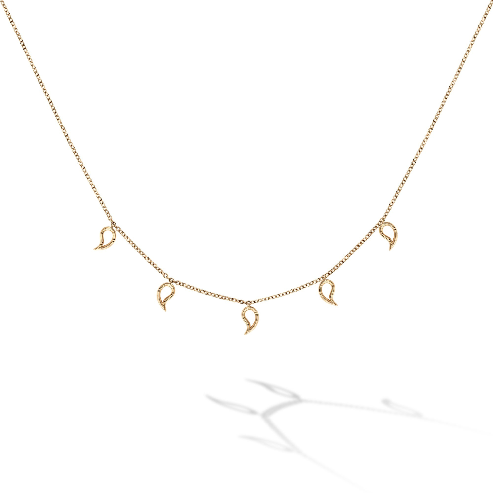 Birks 18K Yellow Gold    Gold Necklace 450013991114