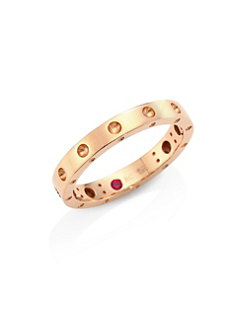 Roberto Coin 18K Rose Gold    Gold Ring without stones 7771358AX650