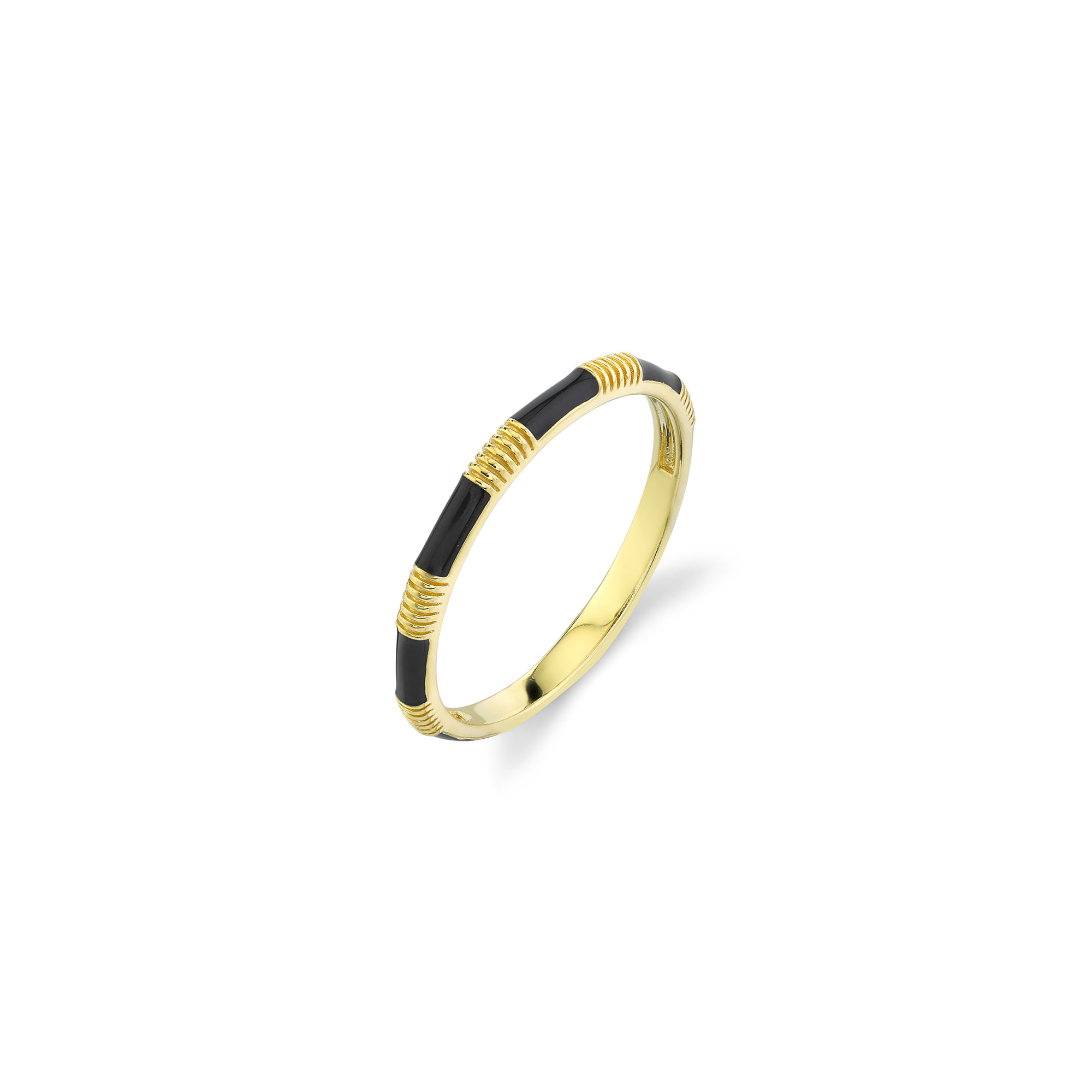 Sloane Street 18K Yellow Gold    Gold Ring without stones R013G-BKE-Y-7
