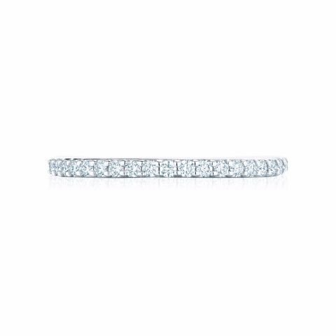Birks 18k White Gold .29cts)  Diamonds Gold Ring with Stones 450011681932-5
