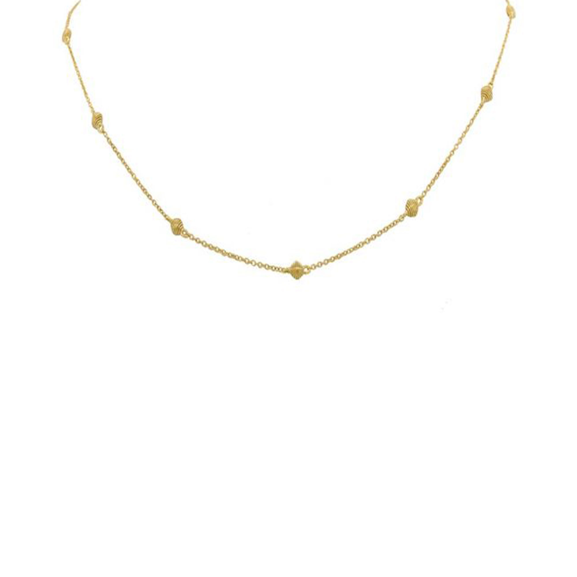 Sloane Street 18K Yellow Gold    Gold Necklace CH013D-Y