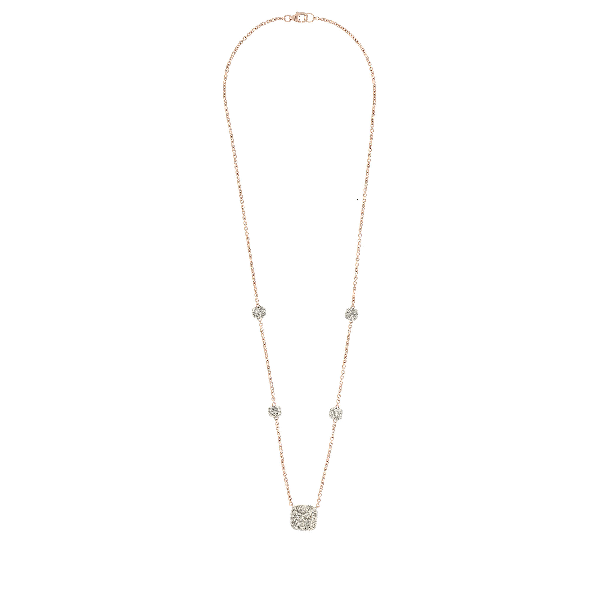 Pesavento 18K Rose Gold    Gold Necklace with Stones YCKTE001