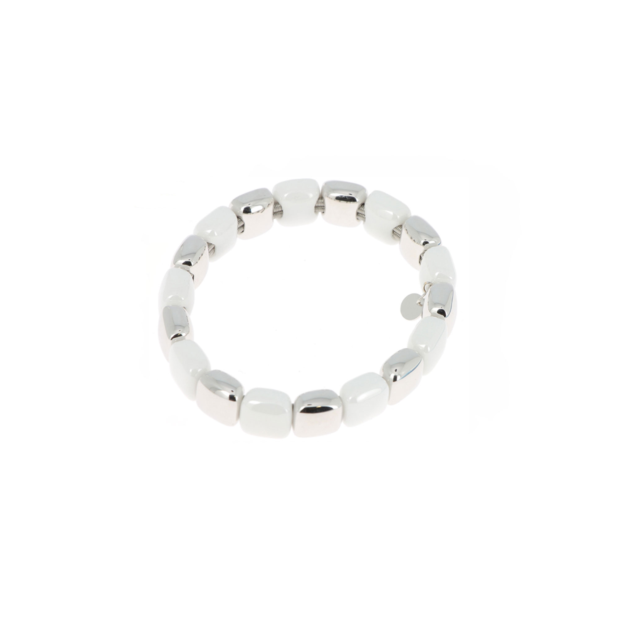 Pesavento  Rhodium Plated Sterling Silver    Silver Bracelets WLUXB005