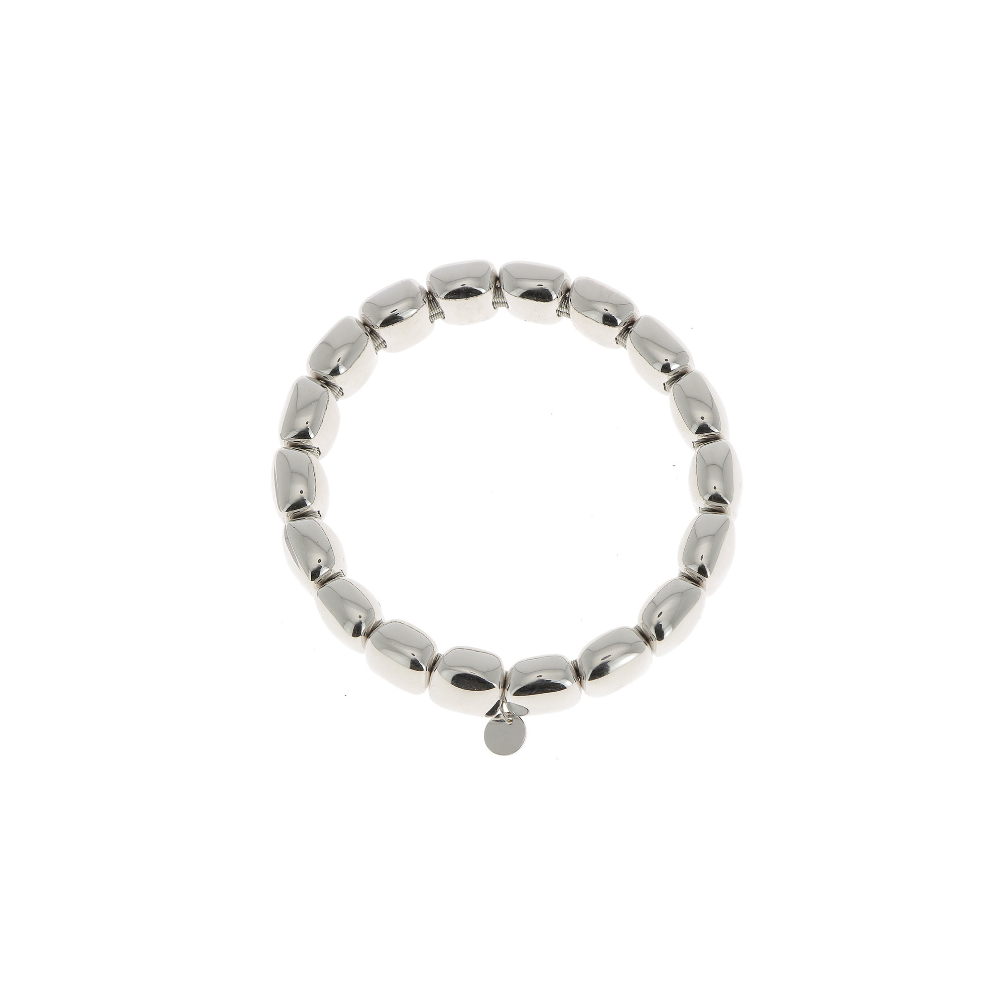 Pesavento  Rhodium Plated Sterling Silver    Silver Bracelets WLUXB023