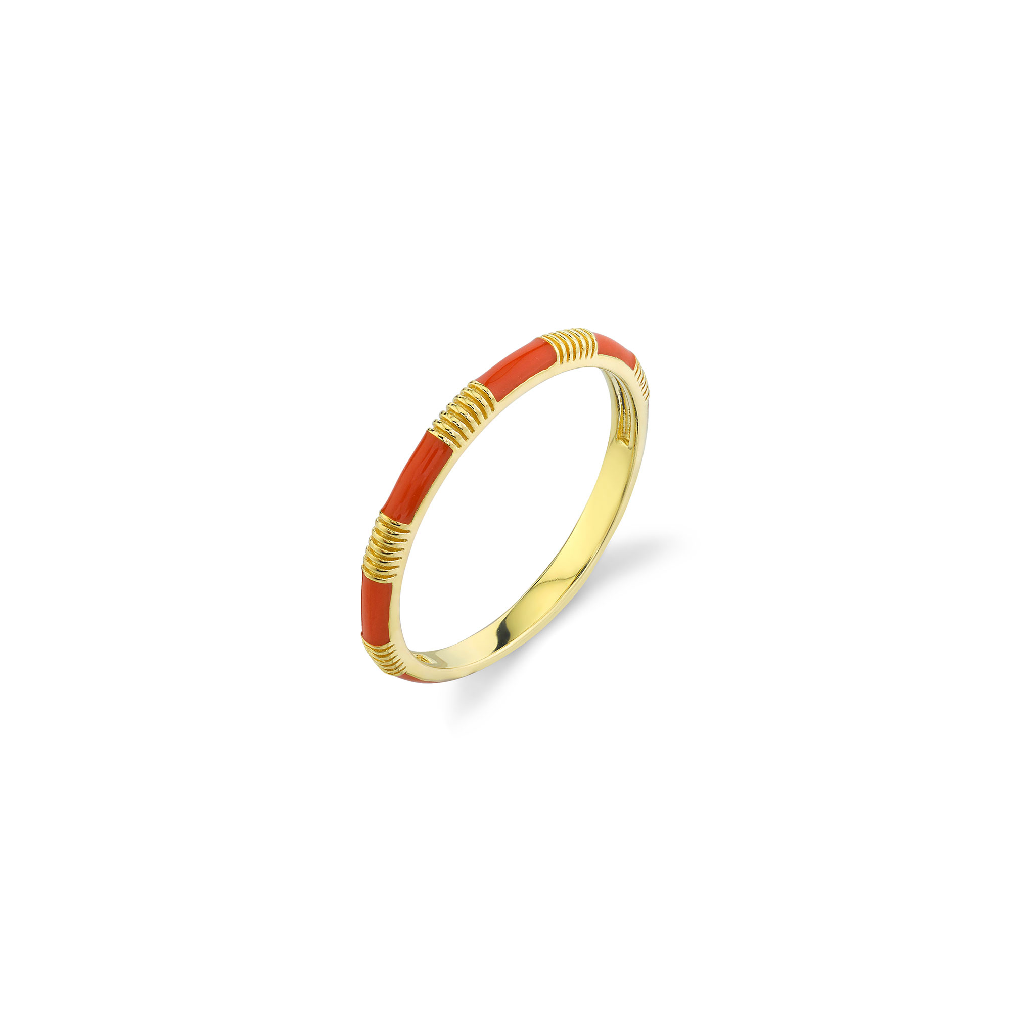 Sloane Street 18K Yellow Gold    Gold Ring without stones R013G-OE-Y-7
