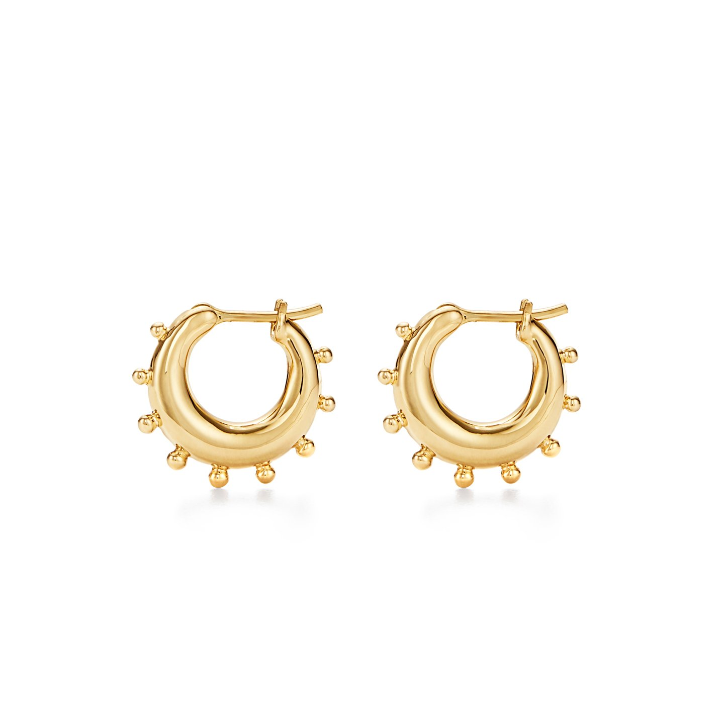 Temple St. Clair 18K Yellow Gold    Gold Earrings E18811-GRHHP