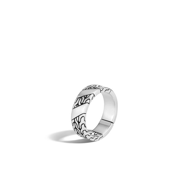 John Hardy   Sterling Silver    Silver Rings with Stones RM900433X10